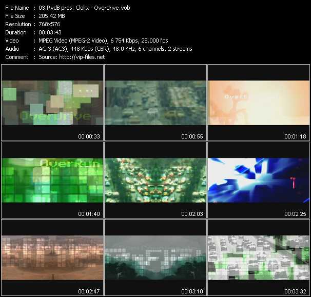 RvdB pres. Clokx video screenshot