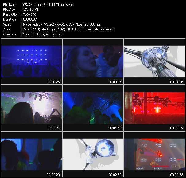 video Sunlight Theory screen
