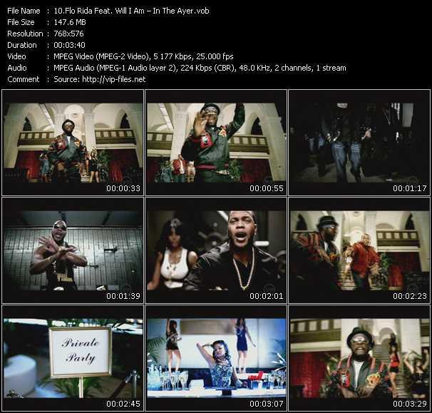 Flo Rida Feat. Will.I.Am video screenshot