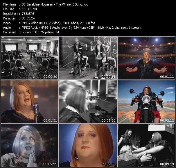 Geraldine McQueen video screenshot