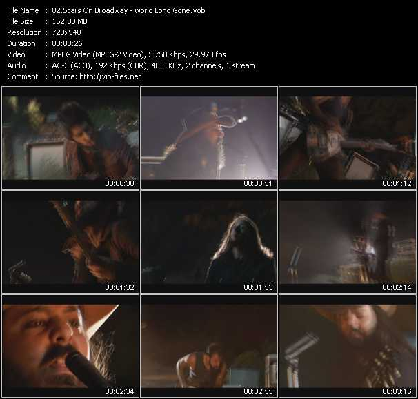 Scars On Broadway video screenshot