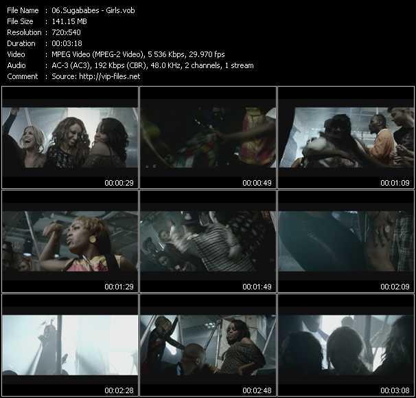 video Girls screen