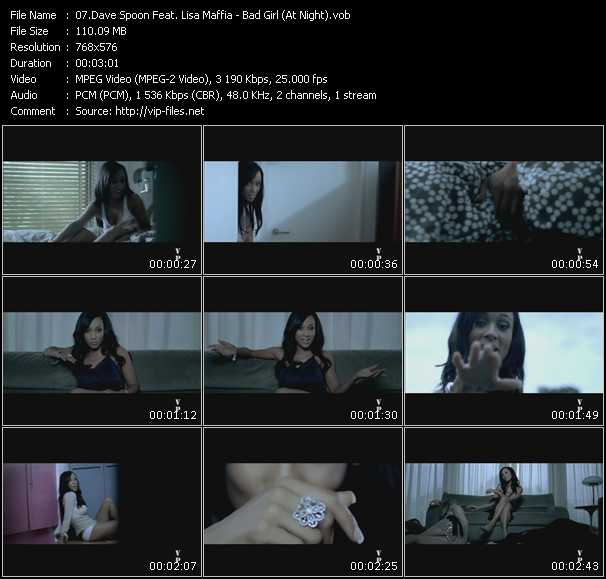 Dave Spoon Feat. Lisa Maffia video screenshot