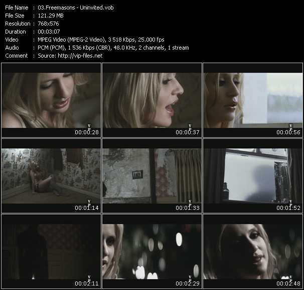 video Uninvited screen