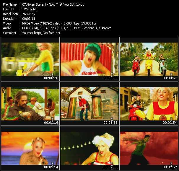 Gwen Stefani Feat. Damian Marley video screenshot