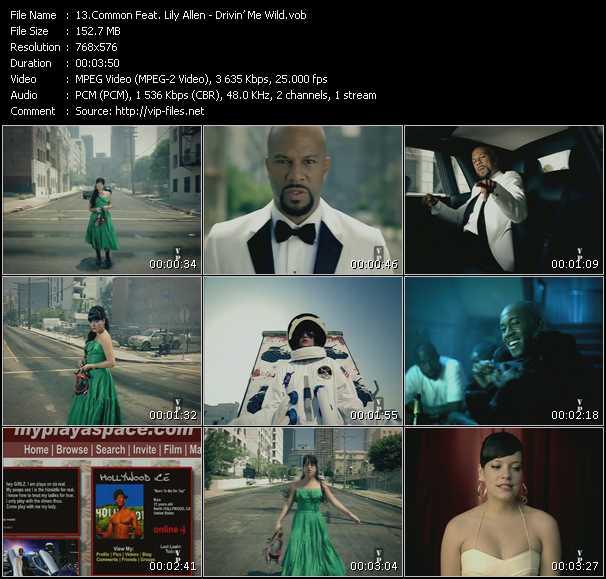 Common Feat. Lily Allen video screenshot