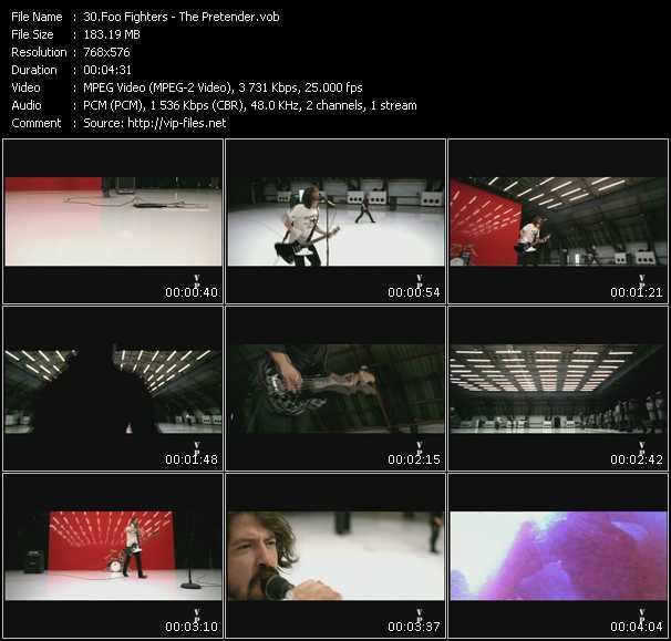 video The Pretender screen