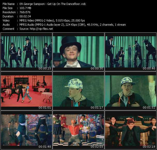 George Sampson video screenshot