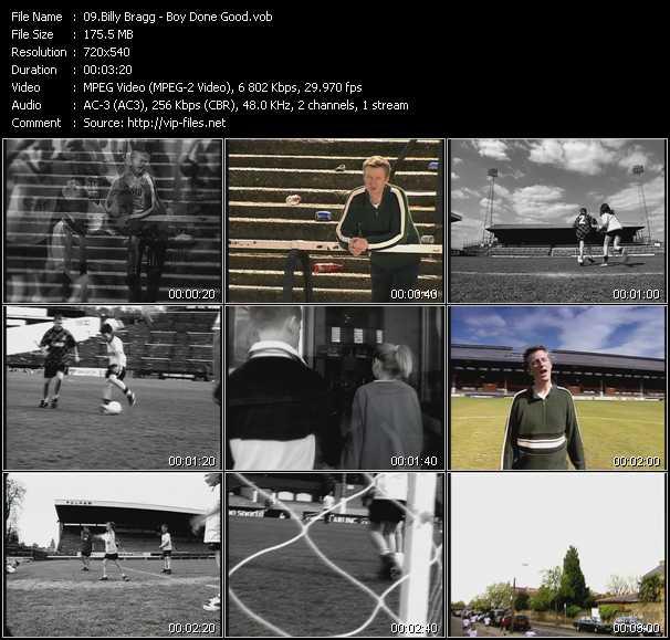 Billy Bragg video screenshot