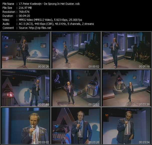 Peter Koelewijn video screenshot