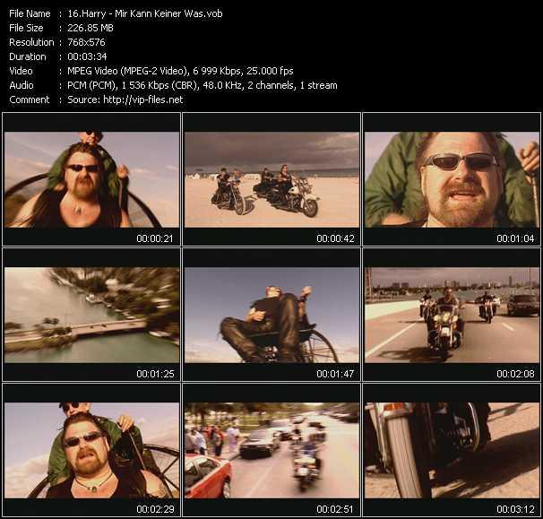 Harry video screenshot