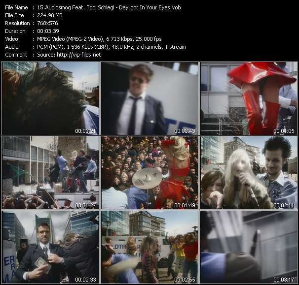 Audiosmog Feat. Tobi Schlegl video screenshot