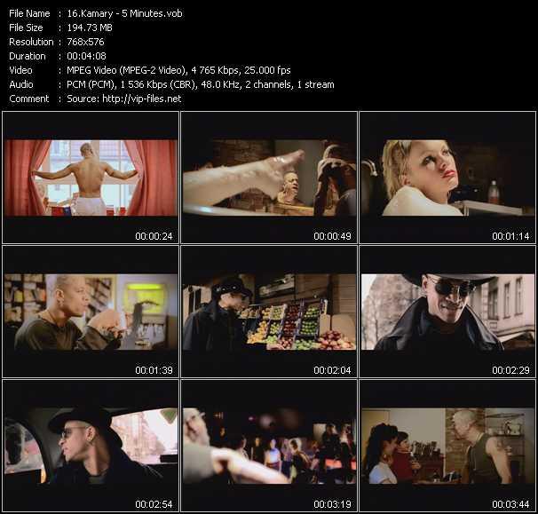 Kamary video screenshot