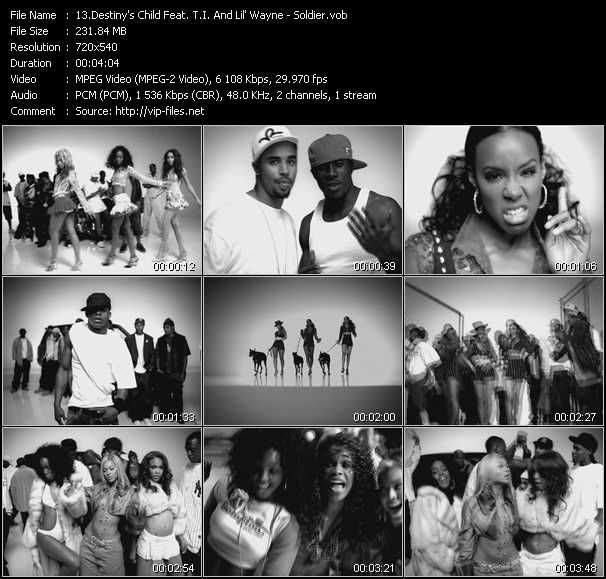 Destiny's Child Feat. T.I. And Lil' Wayne video screenshot