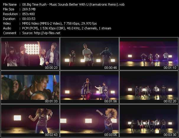 Big Time Rush video screenshot