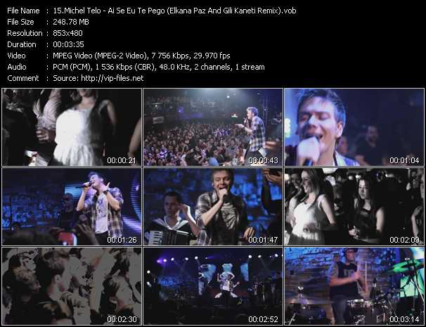 Michel Telo video screenshot