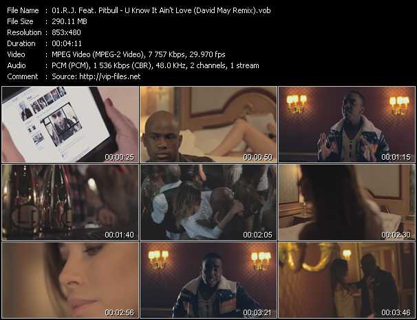 R.J. Feat. Pitbull video screenshot