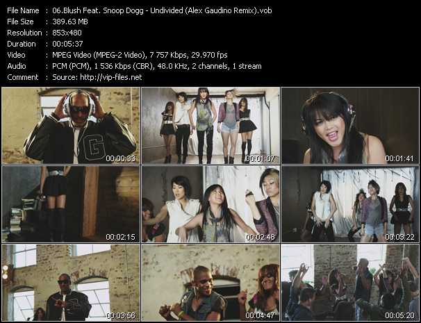 Blush Feat. Snoop Dogg video screenshot
