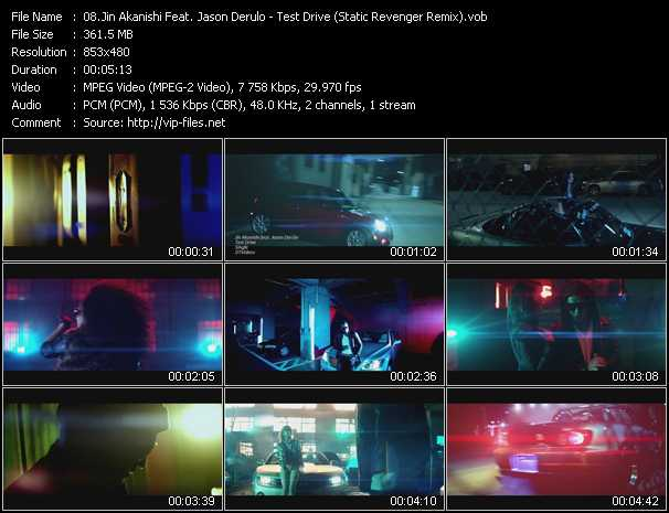 Jin Akanishi Feat. Jason Derulo video screenshot