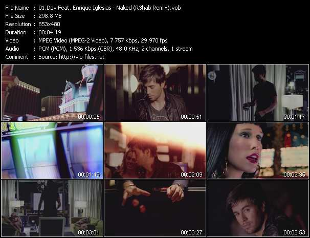 Dev Feat. Enrique Iglesias video screenshot