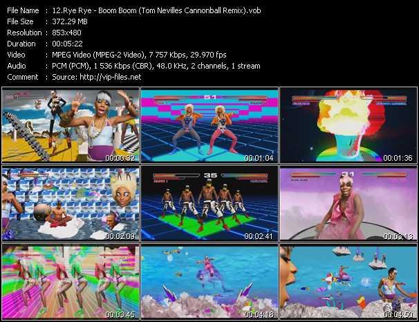 Rye Rye video screenshot