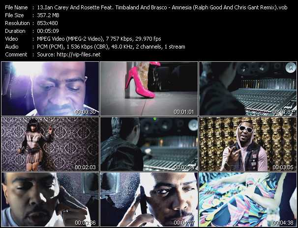 Ian Carey And Rosette Feat. Timbaland And Brasco video screenshot
