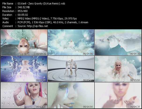 Kerli video screenshot