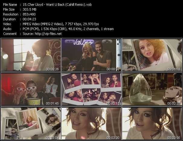 Cher Lloyd video screenshot
