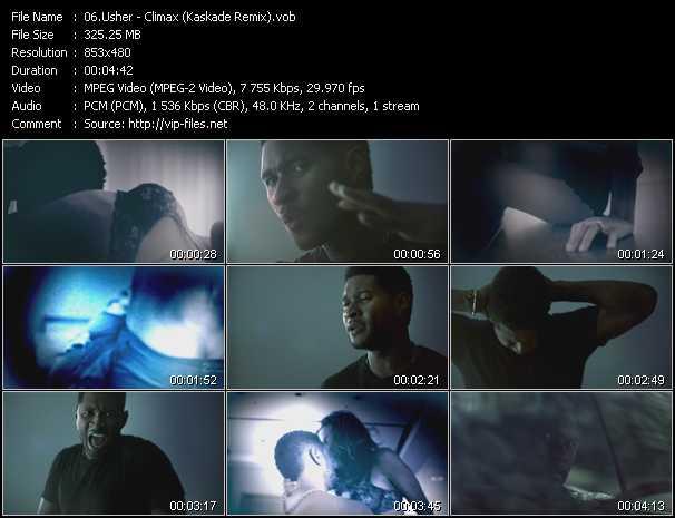 video Climax (Kaskade Remix) screen