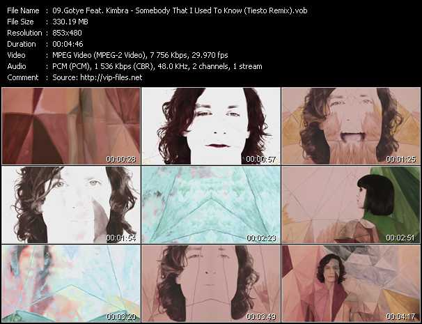 Gotye Feat. Kimbra video screenshot