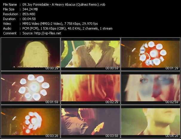 Joy Formidable video screenshot