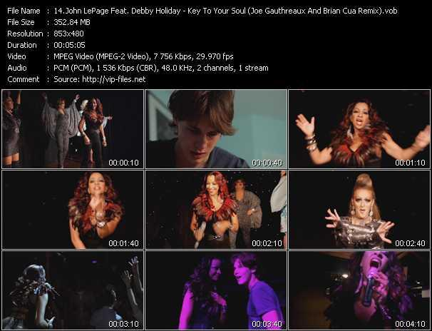 John LePage Feat. Debby Holiday video screenshot