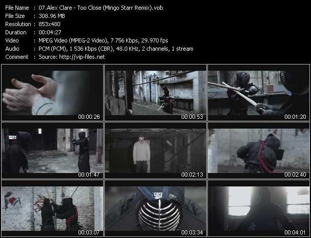 Alex Clare video screenshot