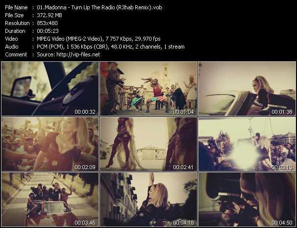 video Turn Up The Radio (R3hab Remix) screen