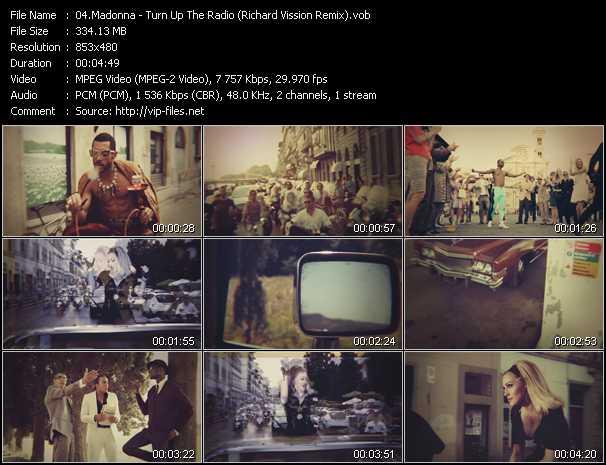 video Turn Up The Radio (Richard Vission Remix) screen