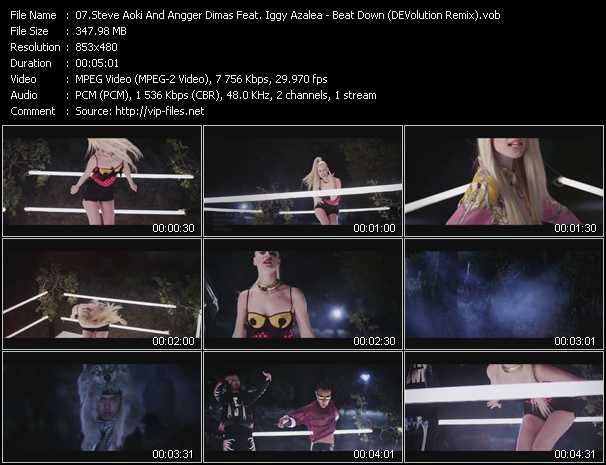 Steve Aoki And Angger Dimas Feat. Iggy Azalea video screenshot