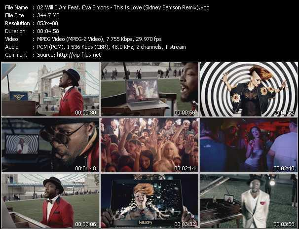 video This Is Love (Sidney Samson Remix) screen