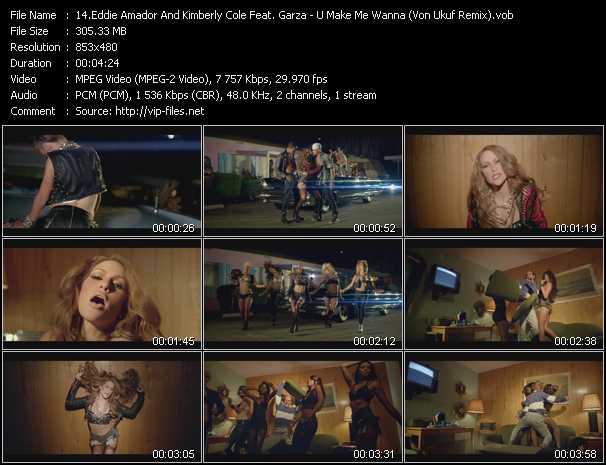 Eddie Amador And Kimberly Cole Feat. Garza video screenshot