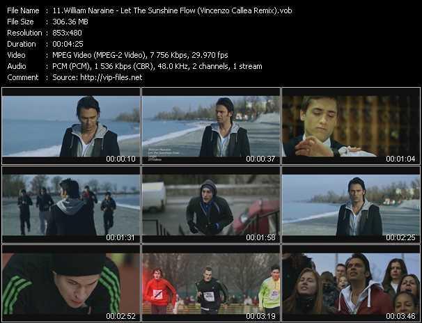 video Let The Sunshine Flow (Vincenzo Callea Remix) screen