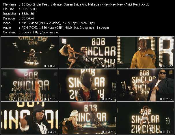 Bob Sinclar Feat. Vybrate, Queen Ifrica And Makedah video screenshot