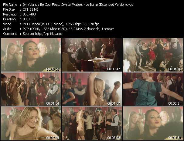Yolanda Be Cool Feat. Crystal Waters video screenshot