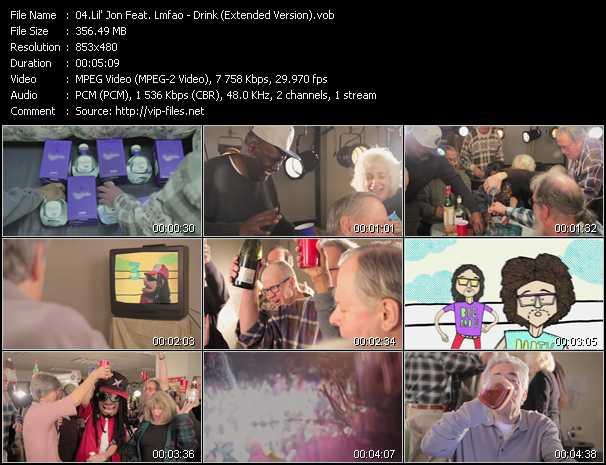 Lil' Jon Feat. Lmfao video screenshot