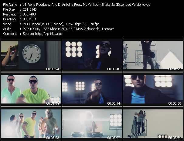 Rene Rodrigezz And Dj Antoine Feat. Mc Yankoo video screenshot