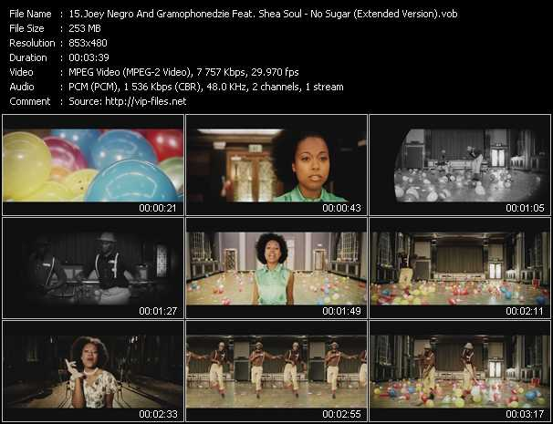 Joey Negro And Gramophonedzie Feat. Shea Soul video screenshot