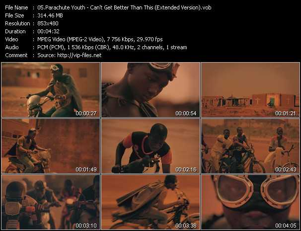 Parachute Youth video screenshot