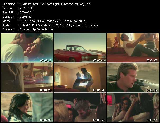 Basshunter video screenshot