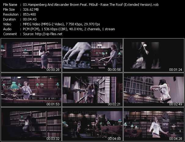 Hampenberg And Alexander Brown Feat. Pitbull, Fatman Scoop And Nabiha video screenshot
