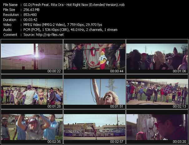 Dj Fresh Feat. Rita Ora video screenshot