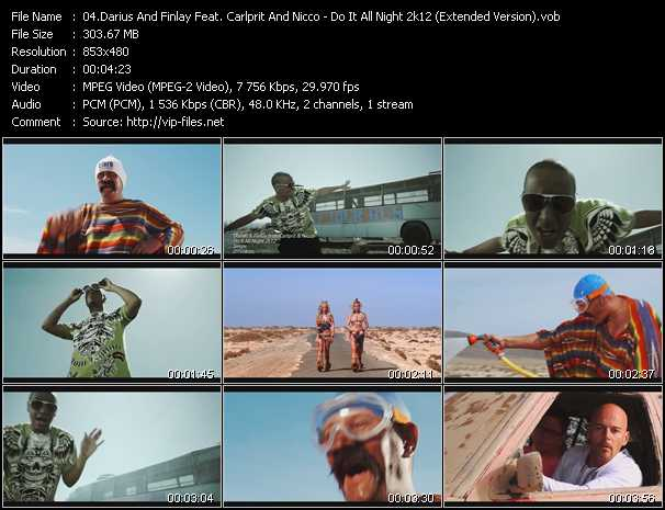 Darius And Finlay Feat. Carlprit And Nicco video screenshot