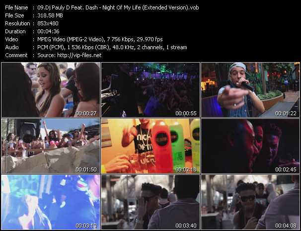 Dj Pauly D Feat. Dash video screenshot